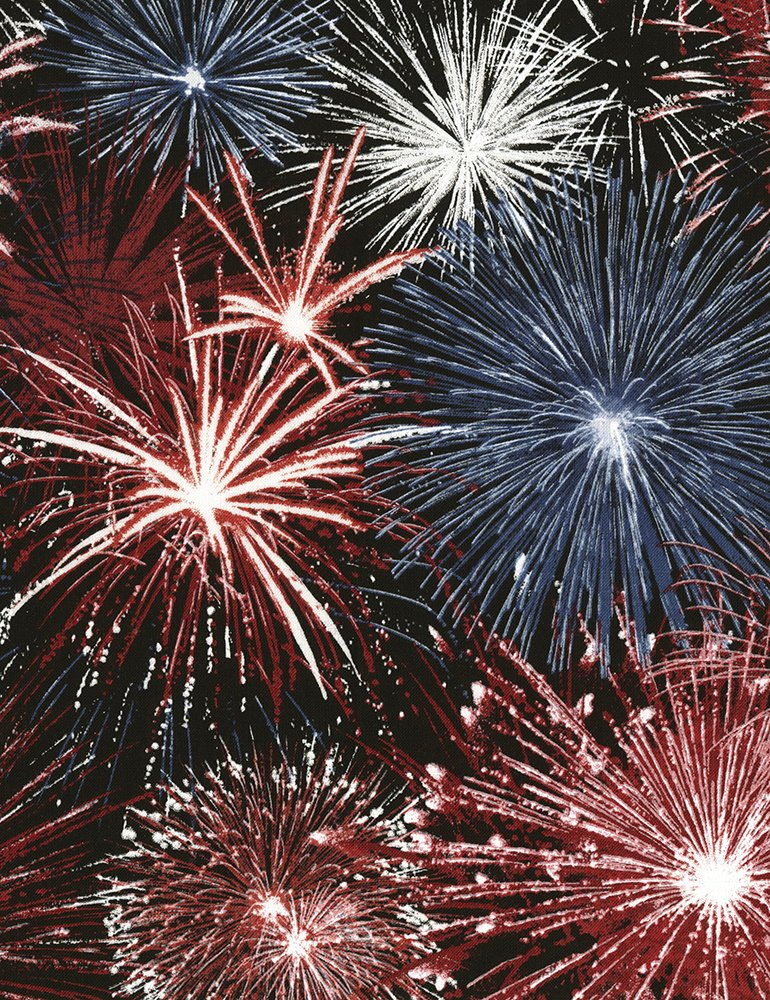 Fireworks USA-C5565 from Timeless Treasures