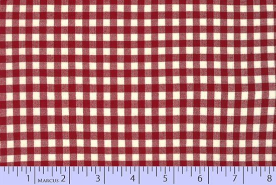 Classic Plaid W1407-Red Yarn Dyes from Marcus Fabrics