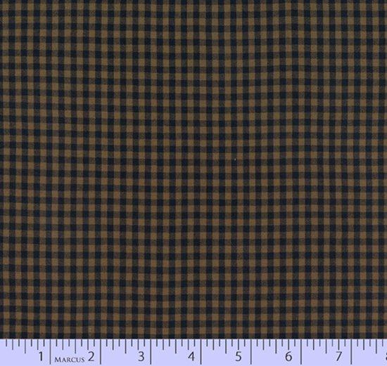 Classic Plaid W2109-Navy/Tan Yarn Dyes from Marcus Fabrics