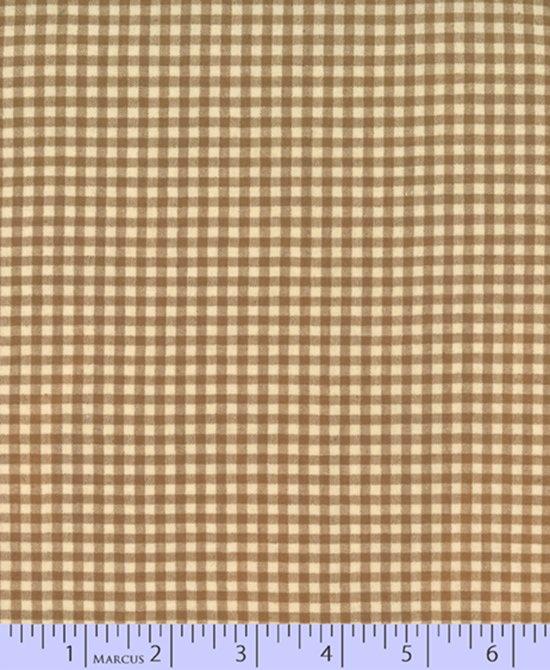 Classic Plaid W2109-Tan Yarn Dyes from Marcus Fabrics