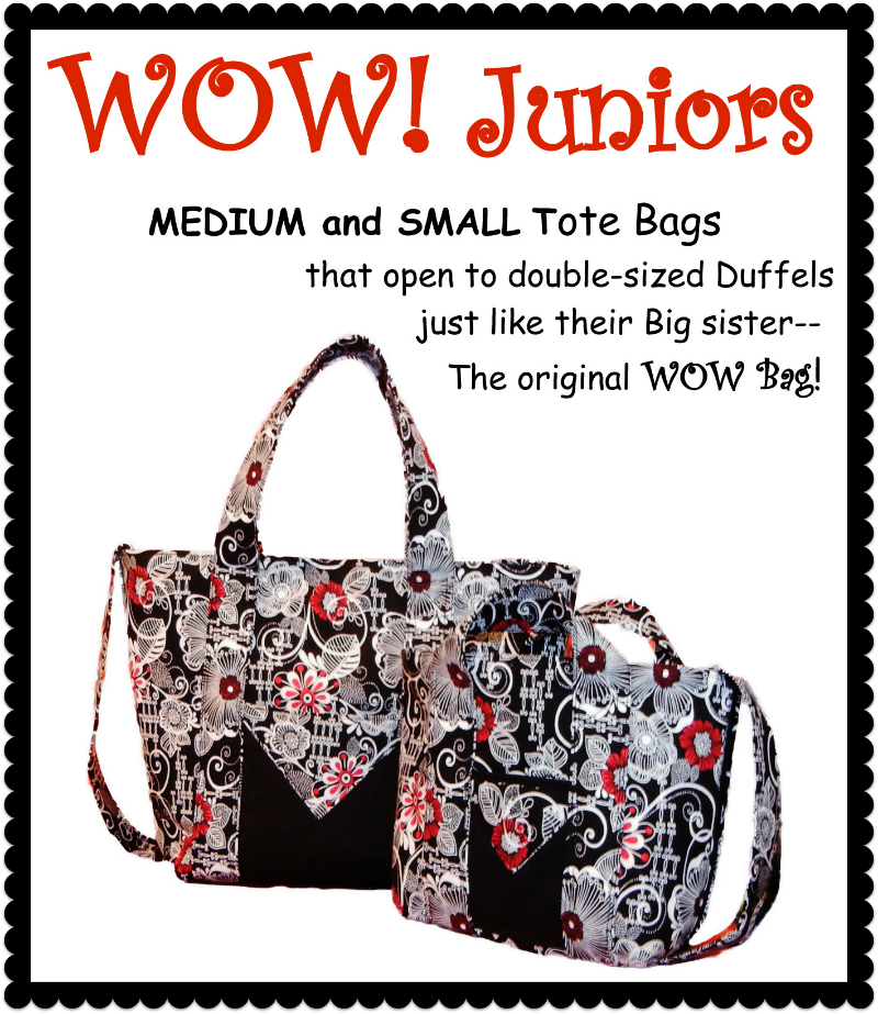 Wow Bag Juniors Pattern Medium & Small Sizes