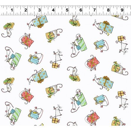 Just What I Wanted Y2979-1 White by Anita Jeram for Clothworks