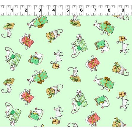 Just What I Wanted Y2979-109 Light Mint by Anita Jeram for Clothworks
