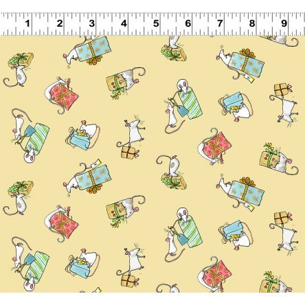 Just What I Wanted Y2979-59 Butter by Anita Jeram for Clothworks