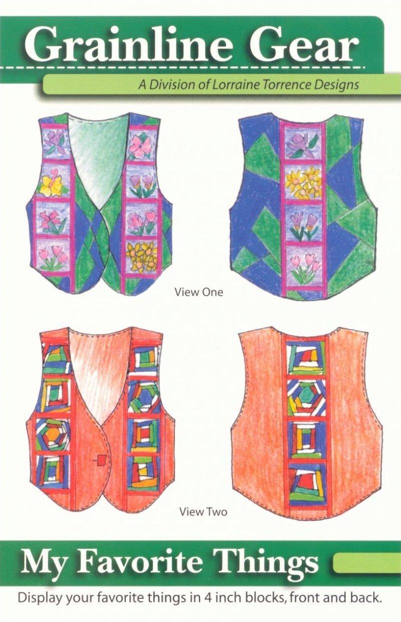 My Favorite Things Vest