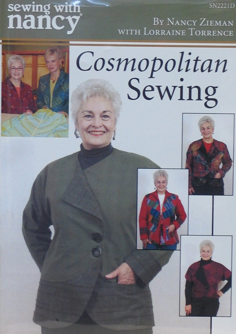 Sewing with Nancy DVD - Cosmopolitan Sewing