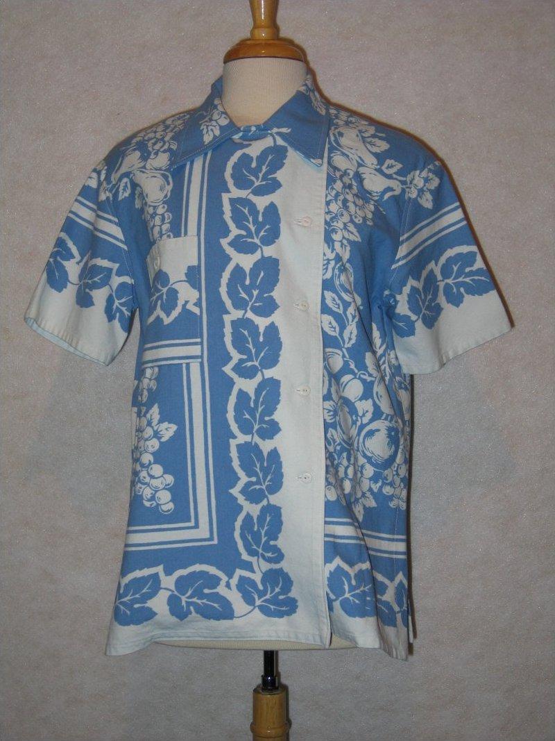 Tablecloth Shirt - Moda reproduction tablecloth
