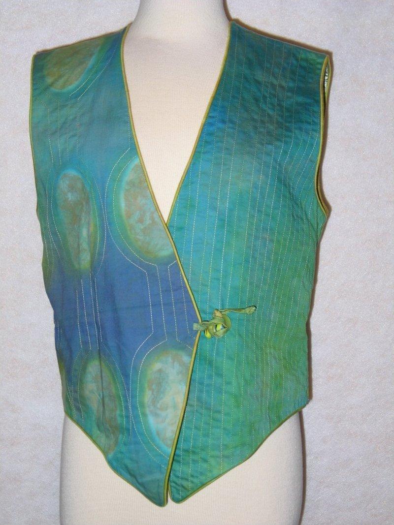 Designer's Choice - Elin Nobel clamp dyed fabric