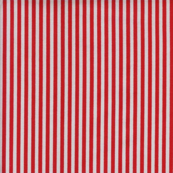 Stripe Red and White