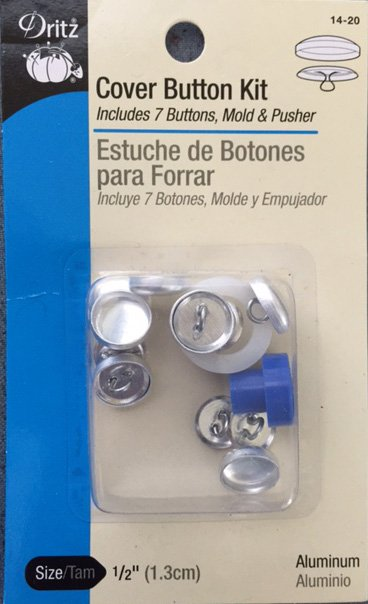Cover Button Kit  1/2''