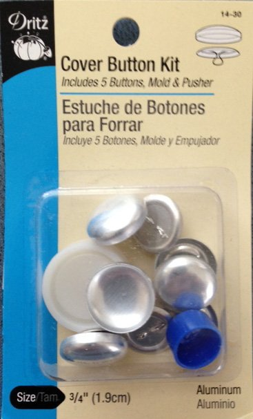 Cover Button Kit 3/4''