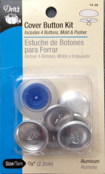 Cover Button Kit 7/8''