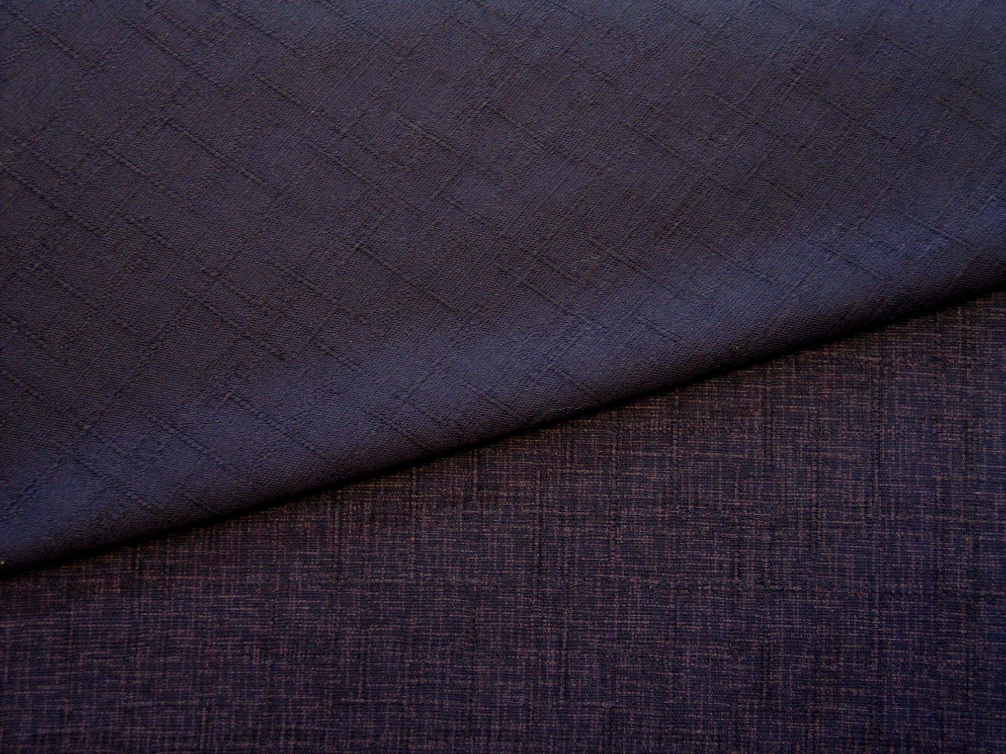 Heathered Dobby, Purple