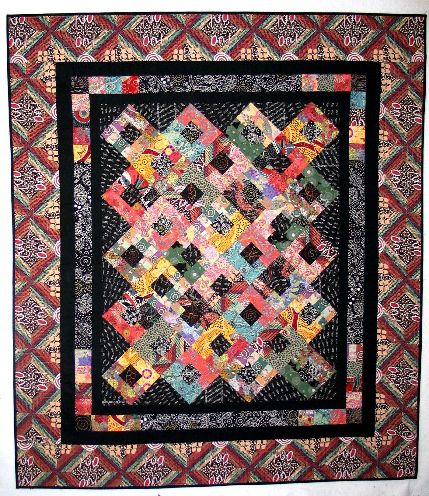 Native Rainbow in Aboriginal Fabrics