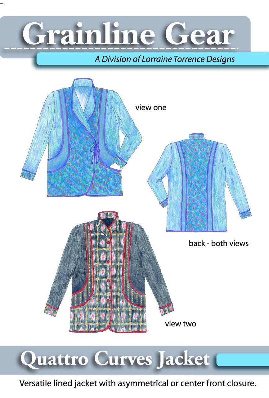 Quattro Curves Jacket