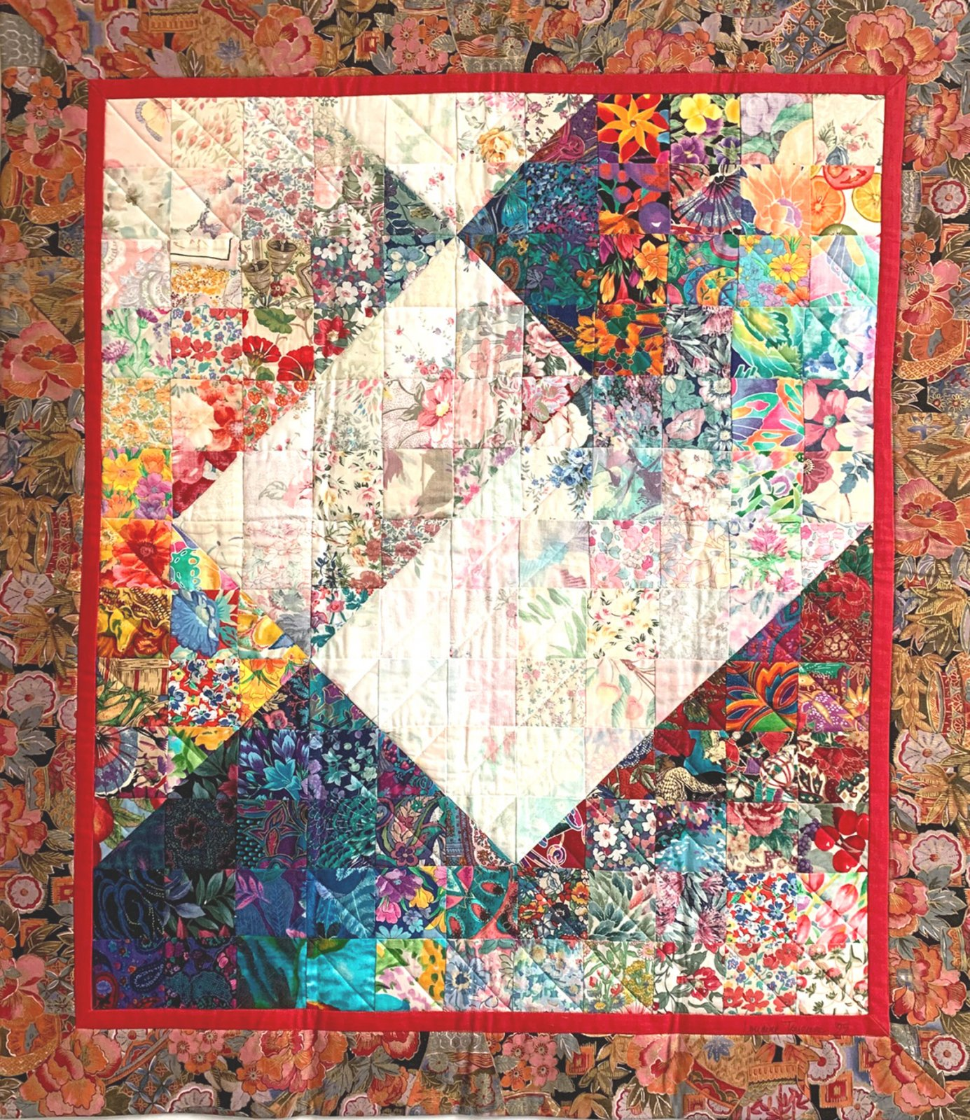 Water Color Quilt 4