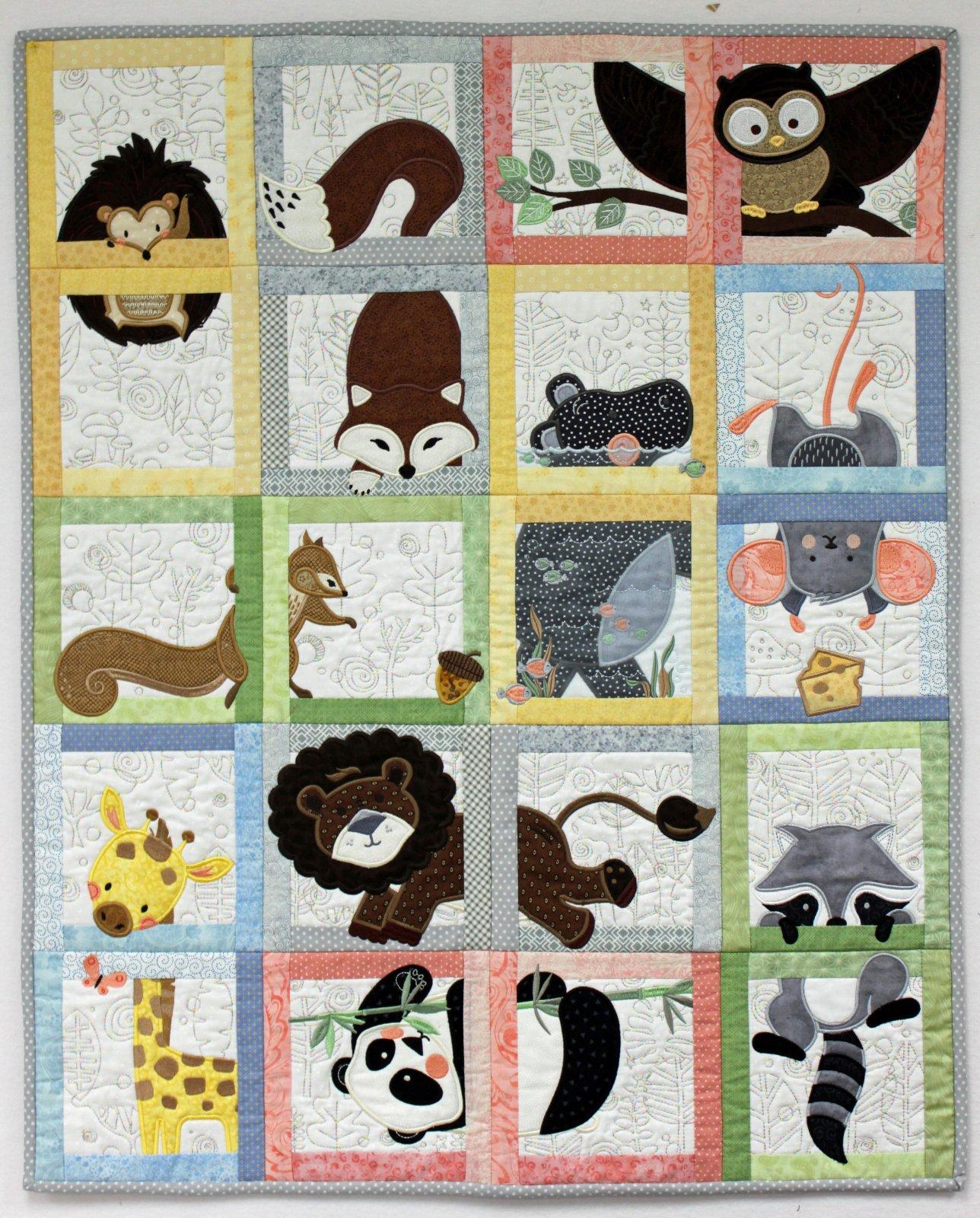 Animal Adventure Fabric  Kit