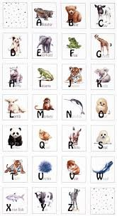 Baby Animal Alphabet Panel