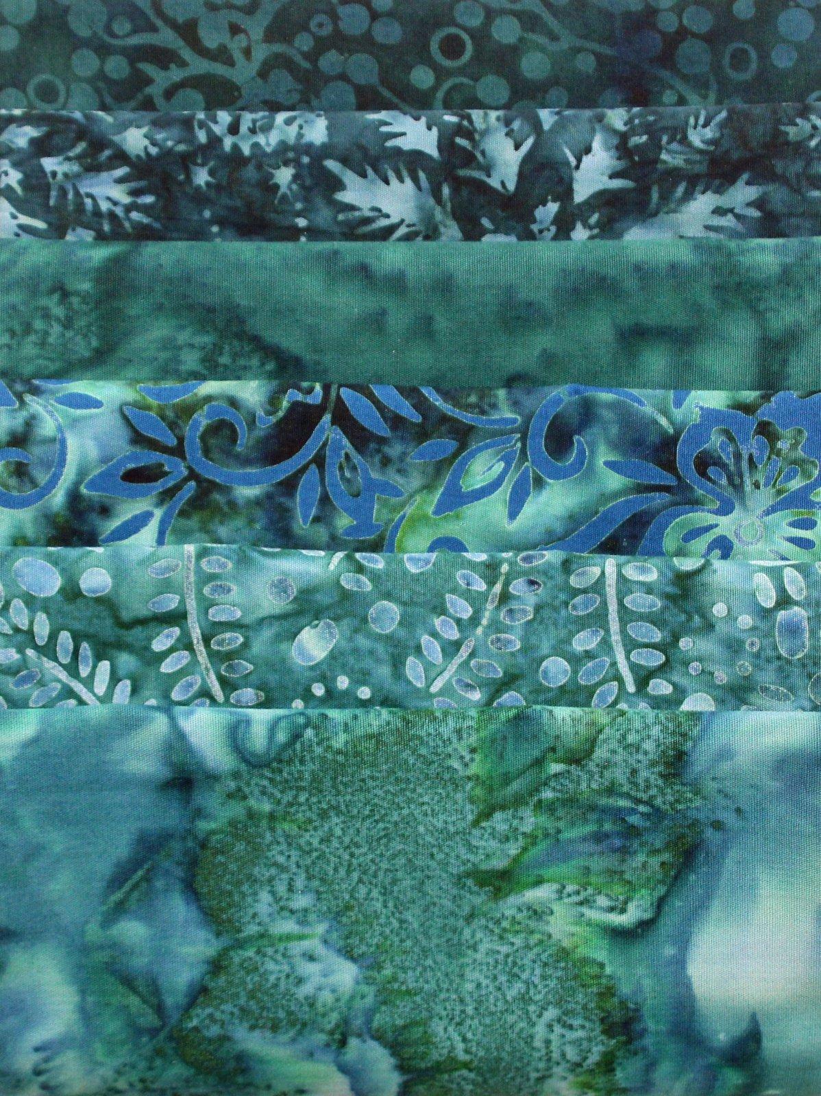 Batik Bundle Hunter Greens
