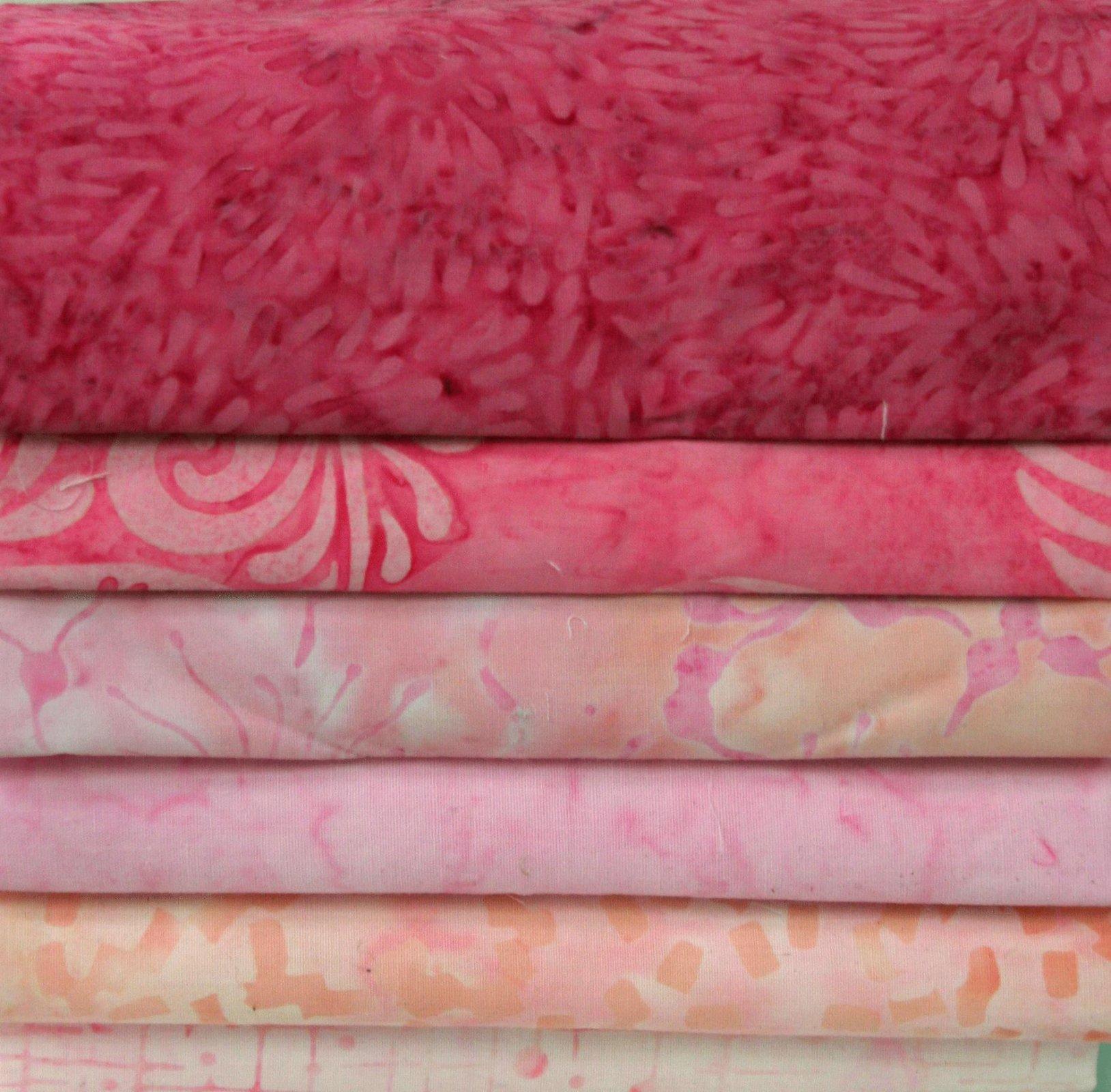Batik Bundle Pretty in Pinks