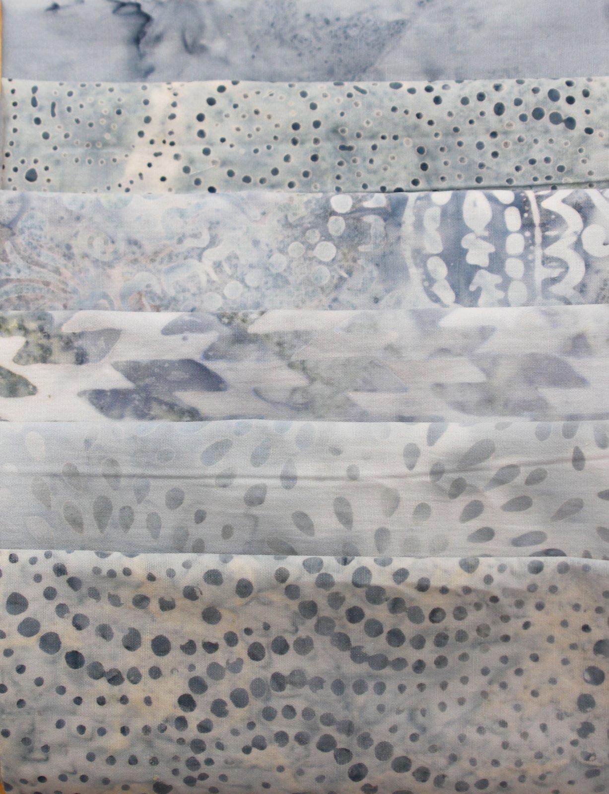 Batik Bundle Soft Grays