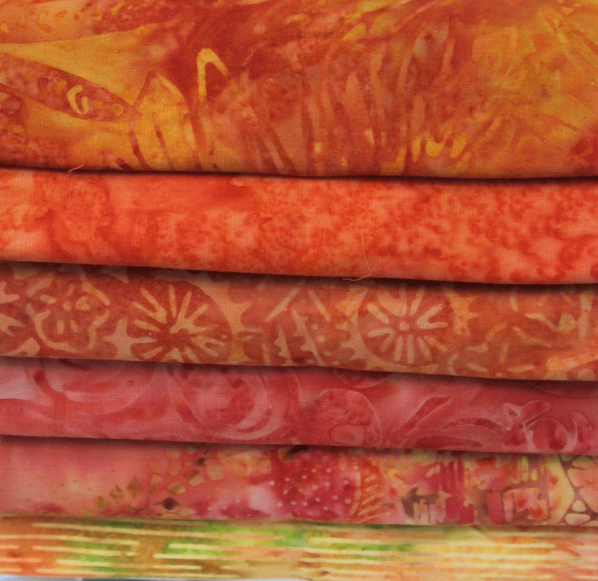 Batik Bundle Tangerine