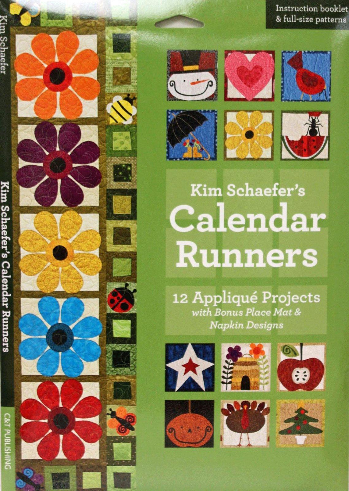 Calendar Runners Book