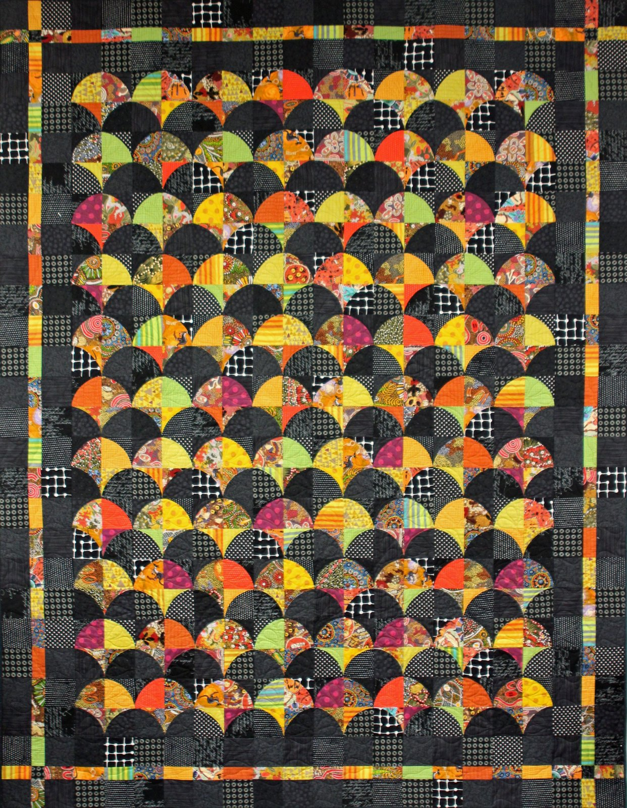 Clamshell Tessellation Pattern