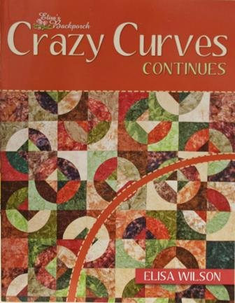 Crazy Curves Continues Softcover Book