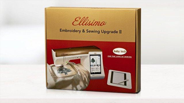 Baby Lock Ellisimo Embroidery & Sewing Upgrade II