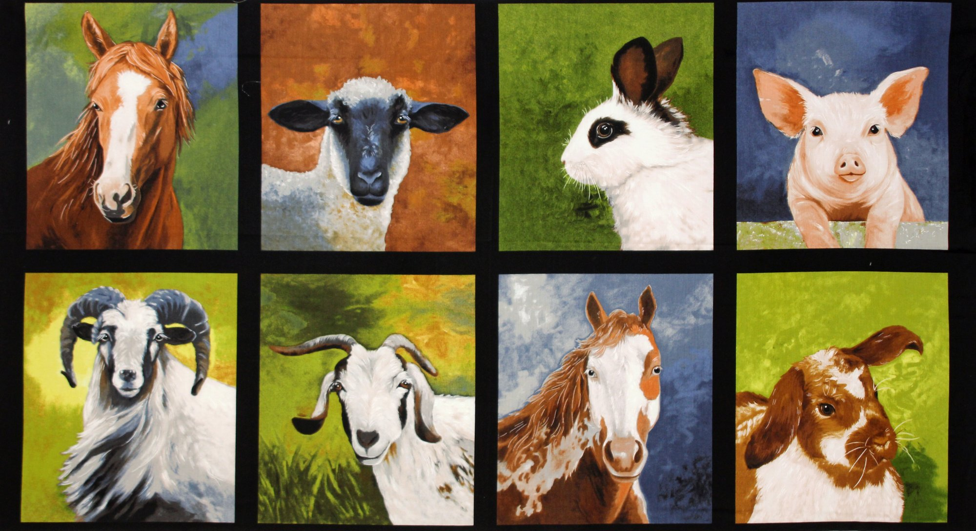 Farm Animals Panel