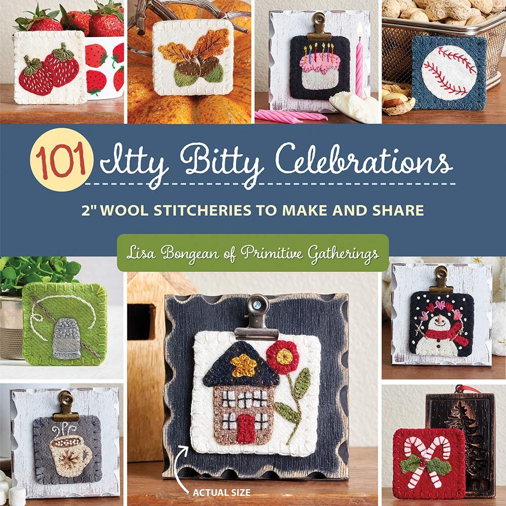 101 Itty Bitty Celebrations  Softcover Book