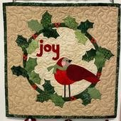 Joy Wreath Quilt Kit