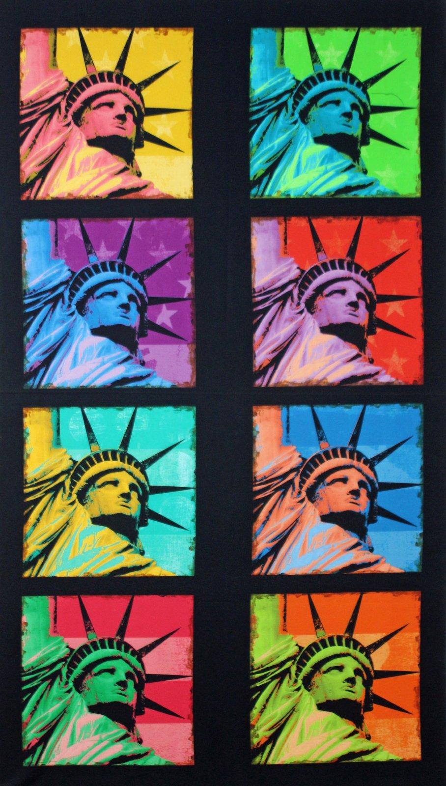 Lady Liberty Panel