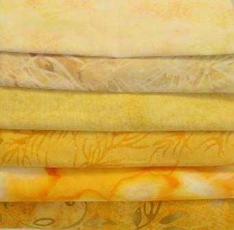 Batik Bundle Mellow Yellow