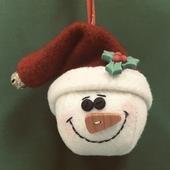 Santa Snowball Ornie Kit