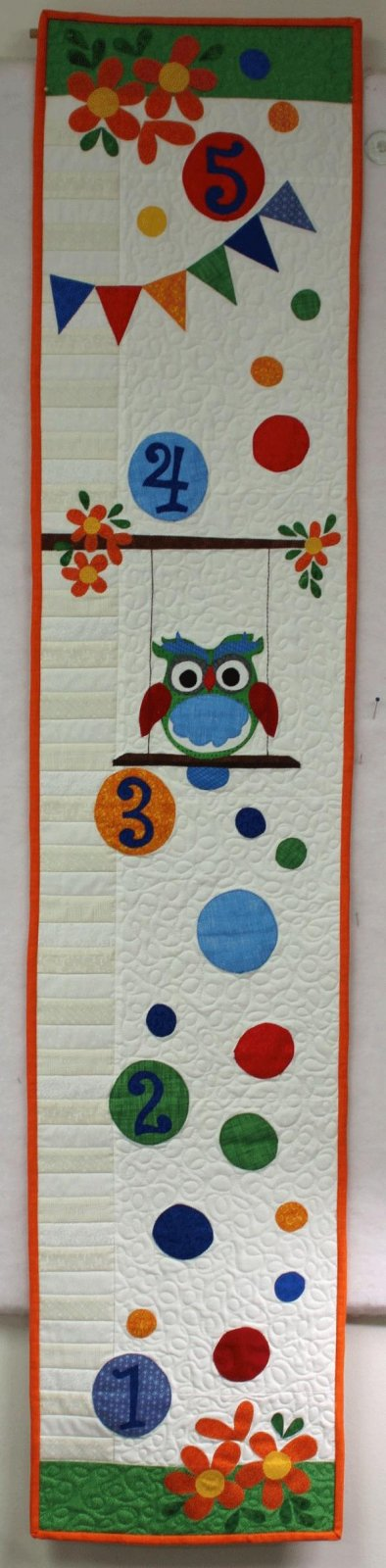Sale Item! Owl Grown-Up Growth Chart Kit