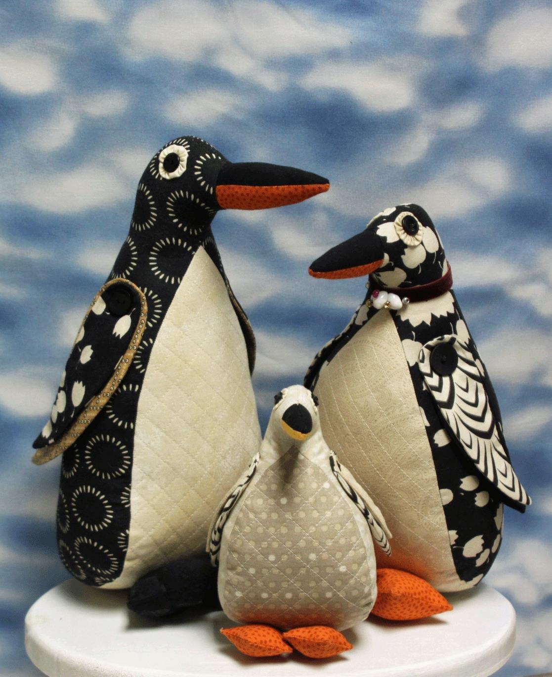 Penguin Family Pattern