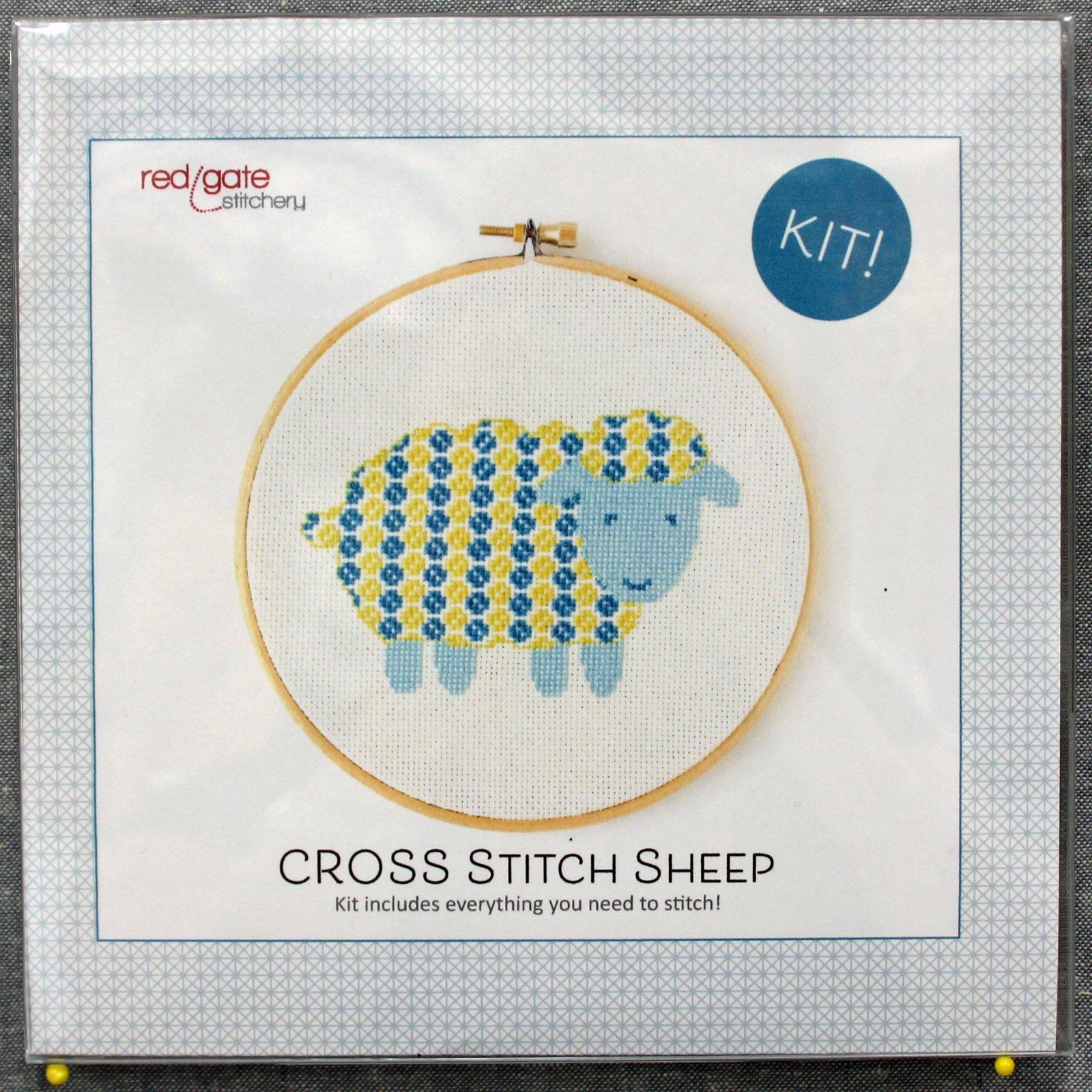 Cross Stitch Sheep Kit