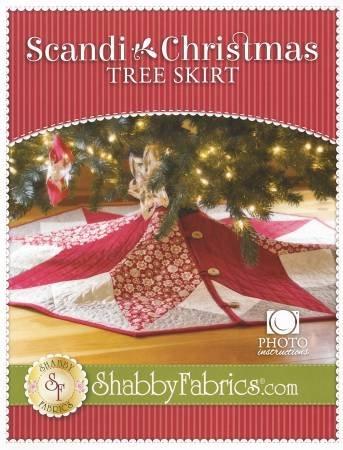Scandi Christmas Tree Skirt Kit