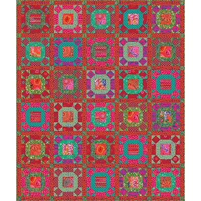 Gathering No Moss - Kaffe Fassett Quilt Kit