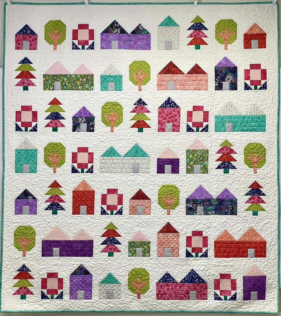 Tiny Town Quilt Kit