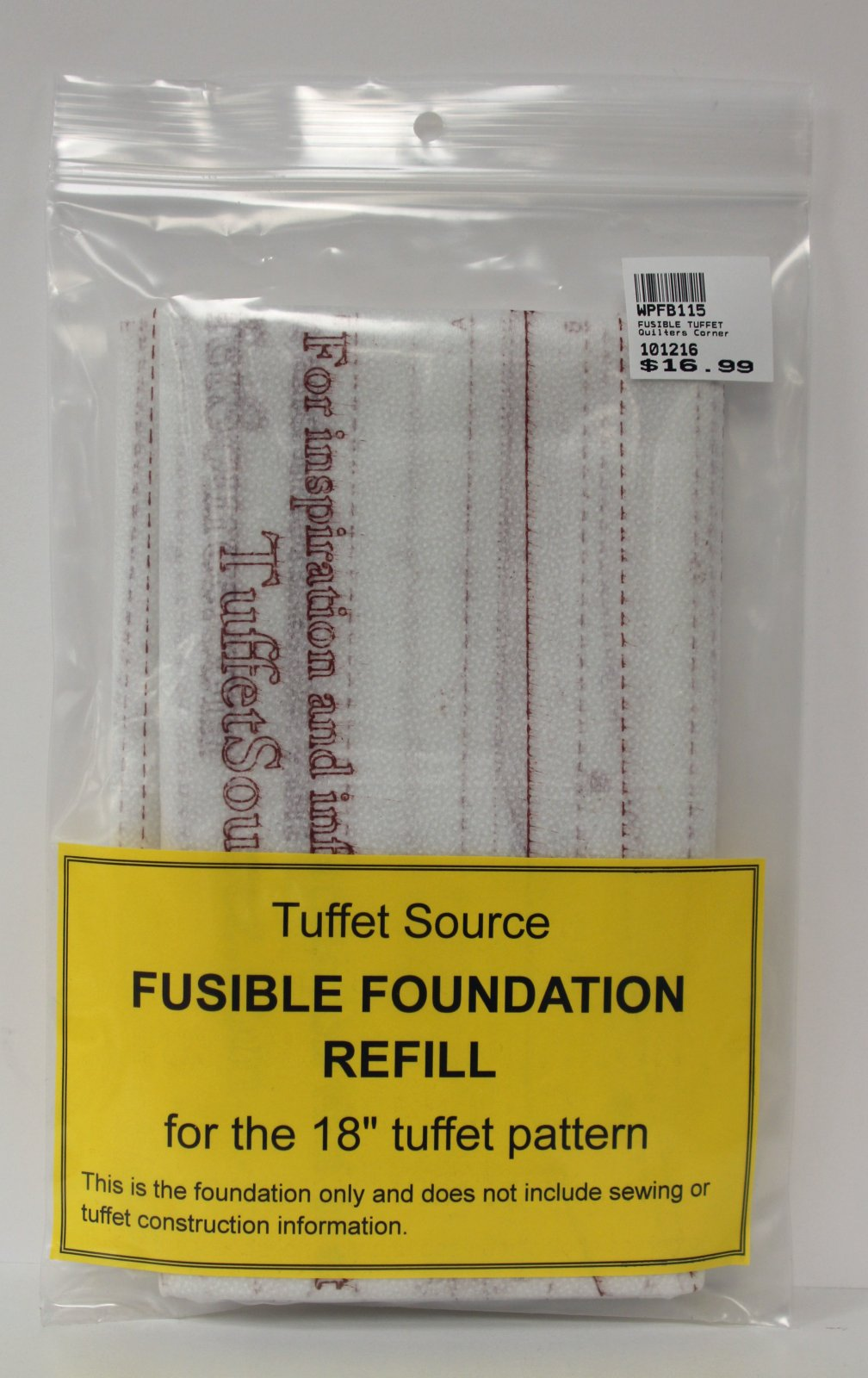18 Tuffet Fusible Foundation Refill