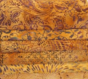 Batik Bundle Warm Amber