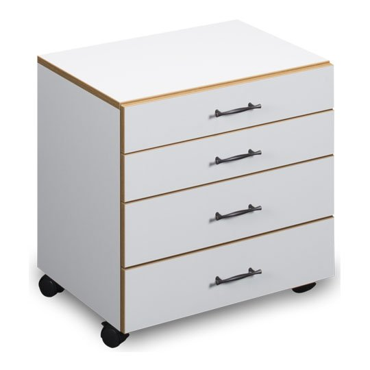 Sylvia 4-Drawer Set 460 - White/Oak