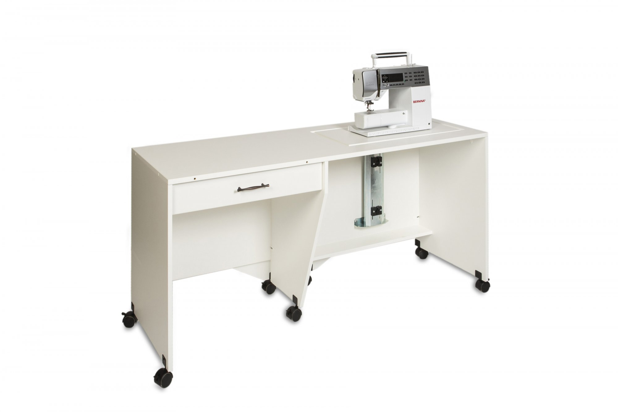Sylvia Cabinet 1600 Quilting - White/White