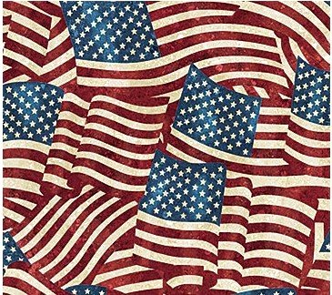 Stars and Stripes Flannel F20158-49