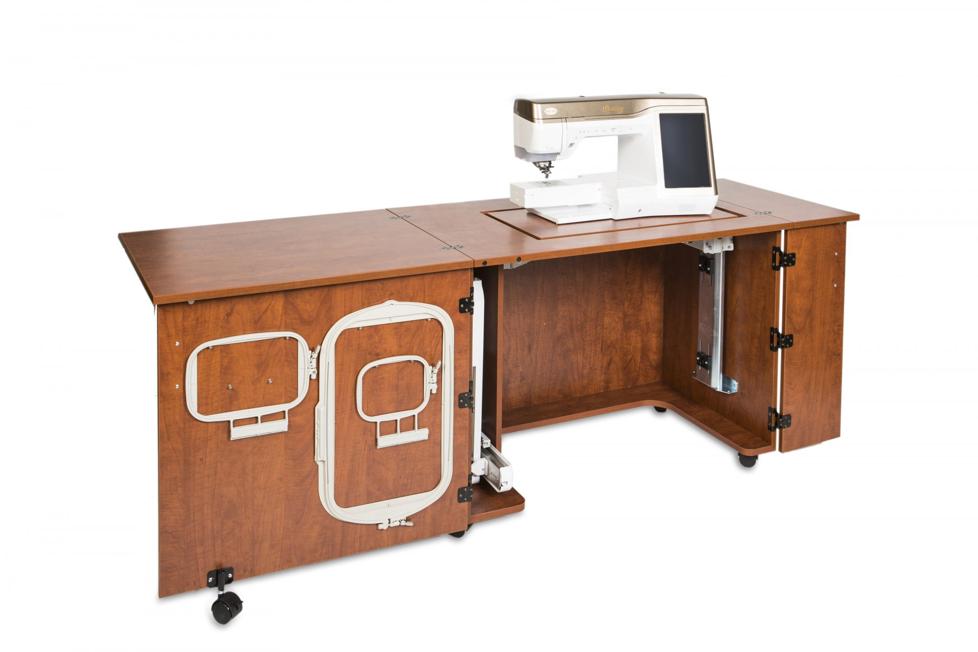 Sylvia Cabinet 2400 Sewing Cherry