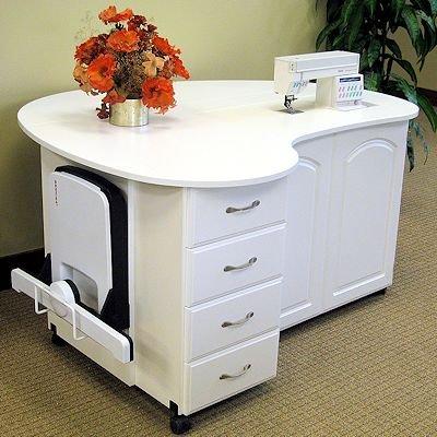 Sewing Furniture Interesting Custom Sewing Machine Table