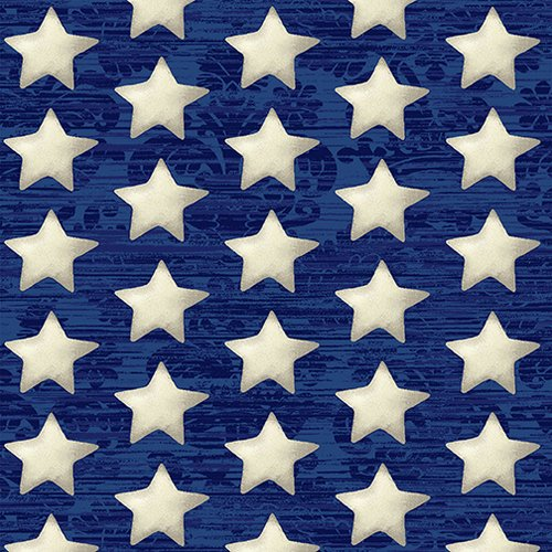 America the Beautiful - Stars on Blue